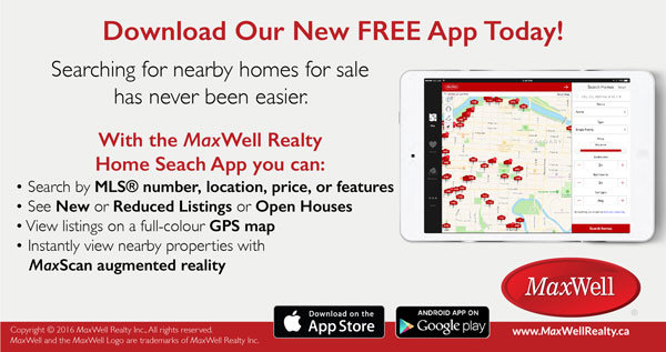 MaxWell Home Search App